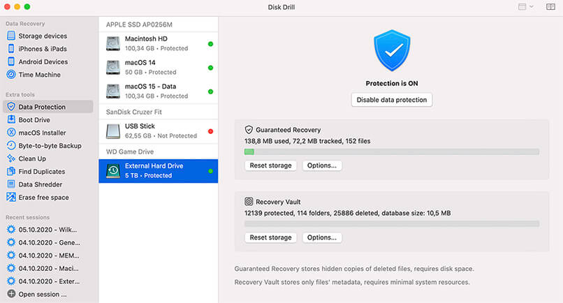 Protect Data on Mac