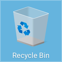 how to delete from recycle bin second harddrive