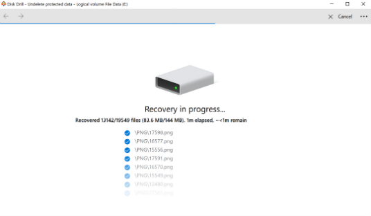 Free file recovery
