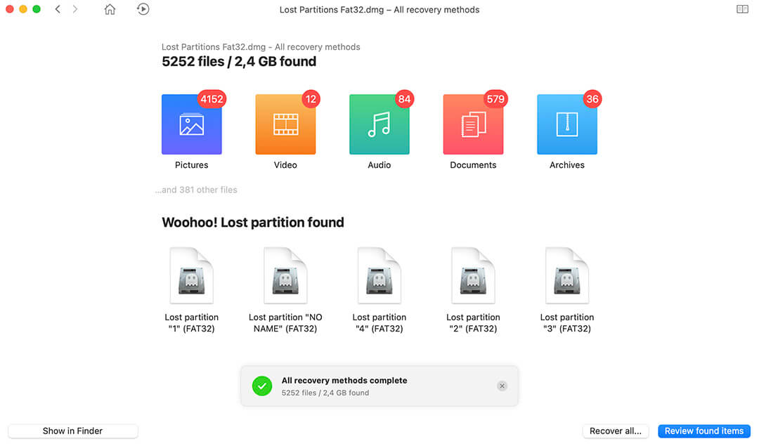 How to Recover Deleted Partition on Mac OS X