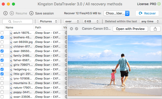 recover deleted photos mac free