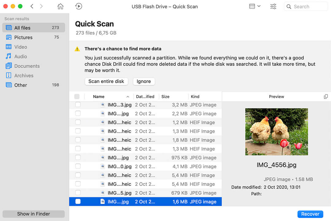 how to find lost files on mac