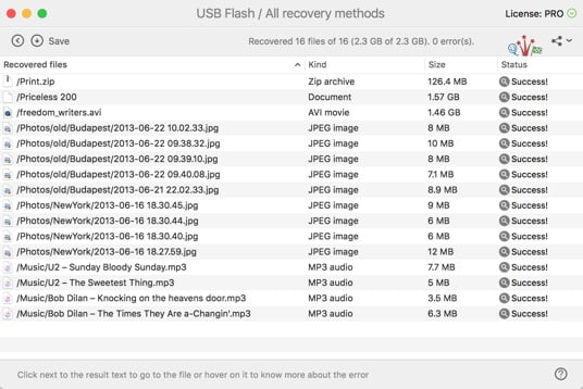 Complete Your USB Drive Recovery
