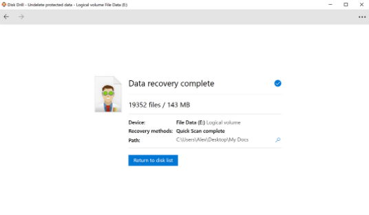 Recover deleted Excel file on Windows