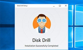 Запустить Disk Drill для Windows