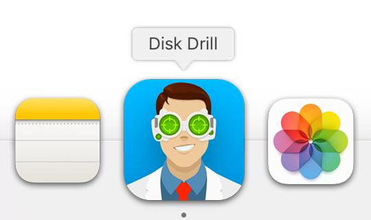 Disk Drill'i Çalıştırın