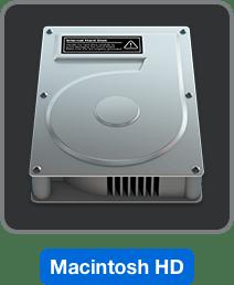 Disco rigido del Mac