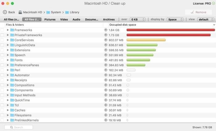 如何检查您的Mac上的磁盘空间