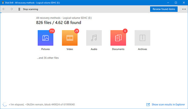 free sd card recovery