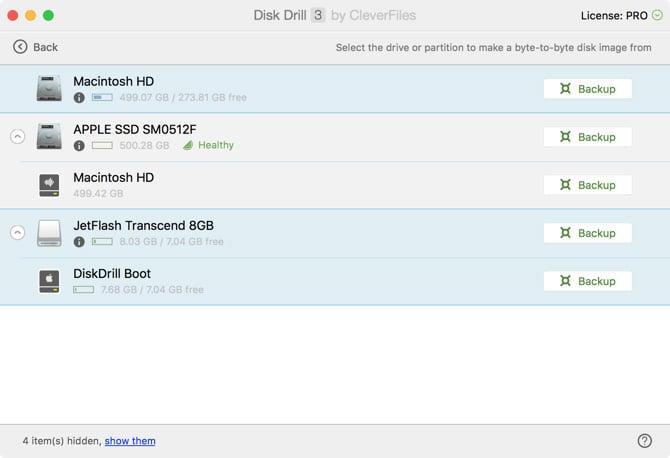 Comment sauvegarder des données sur un disque Mac