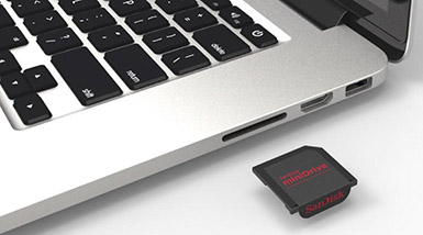 restore files from sd card mac