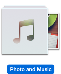 Mac에서 사진 및 음악