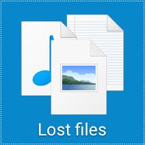 återställa raderade filer