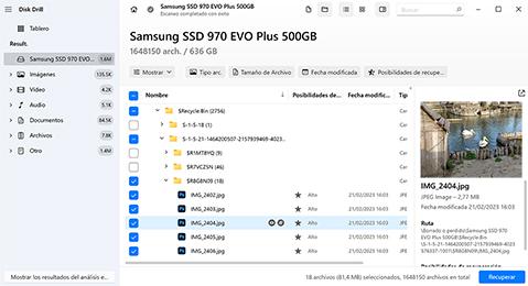 recuperar archivos eliminados de la papelera gratis