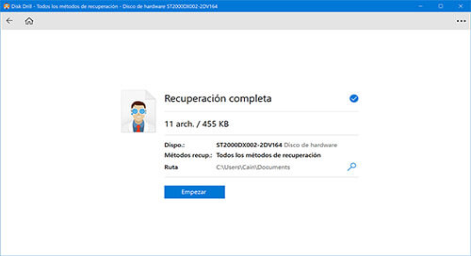 software de recuperación de datos de windows 10