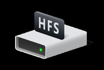Как восстановить файловую систему HFS