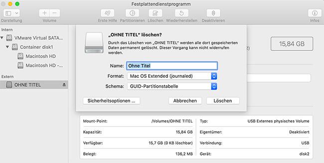 festplatten programm mac