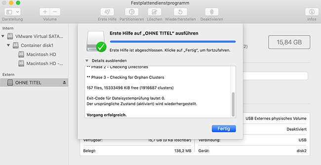 festplatten tool mac