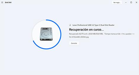 recuperador de archivos usb