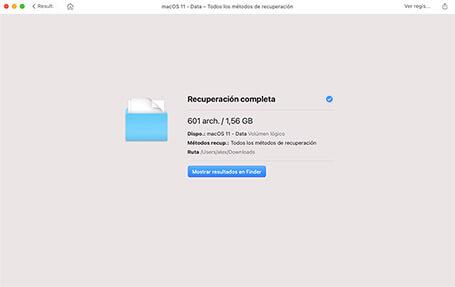 como recuperar archivos borrados de la papelera mac
