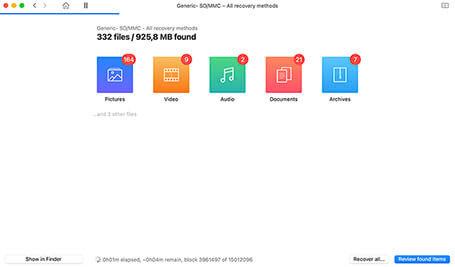 free sd card recovery mac