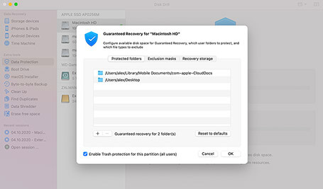 how to recover deleted trash on mac