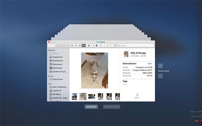 externe festplatte wiederherstellen mac