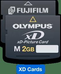 memulihkan fail pada Kad XD