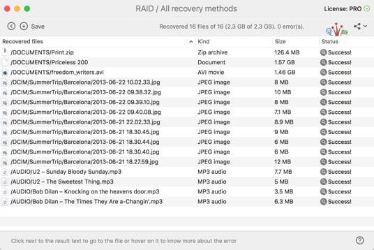 Восстановите свои потерянные файлы Xserve