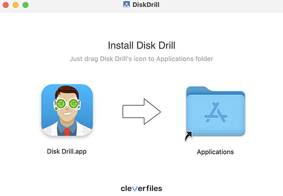 Install Disk Drill for MacOS