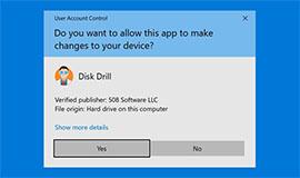 Installeer Disk Drill