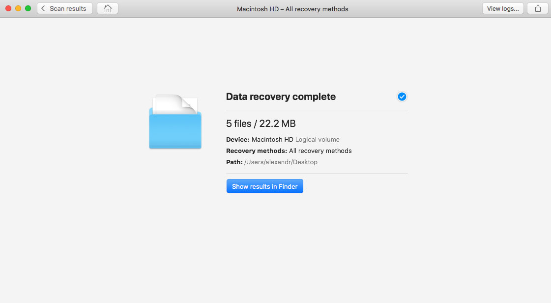 Recover Your Deleted Files on Yosemite