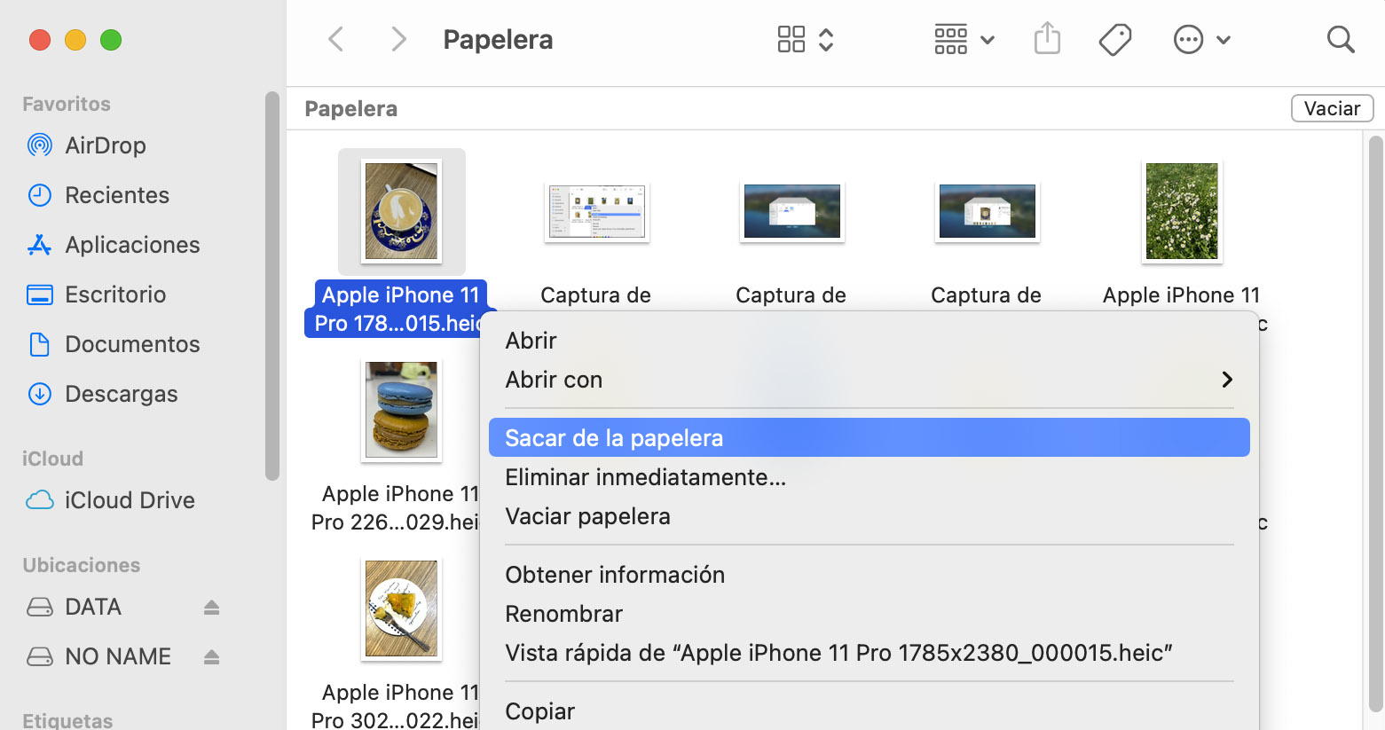 recuperar archivos borrados tarjeta sd mac gratis