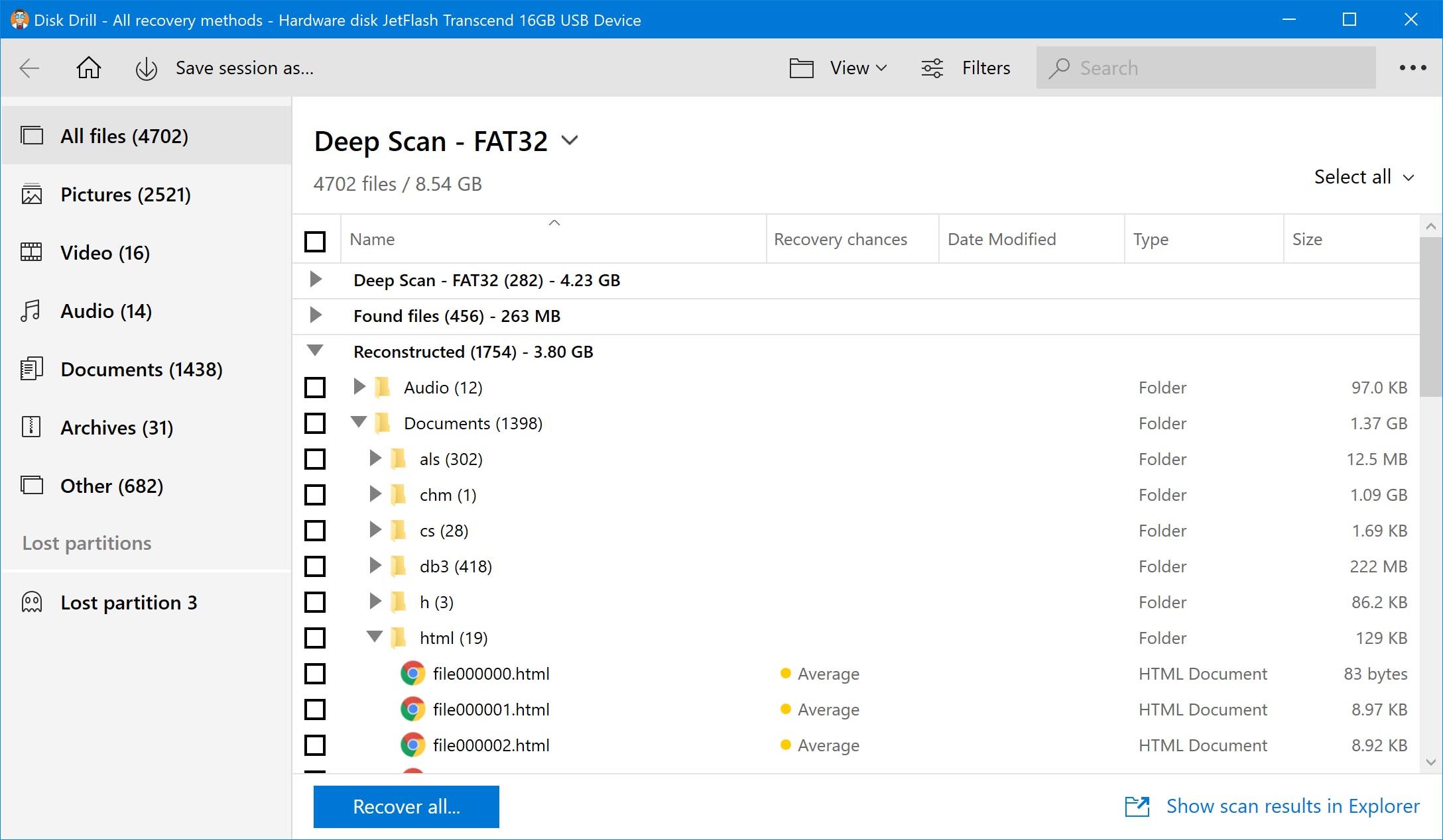 Open Disk Drill to begin the HFS disk recovery