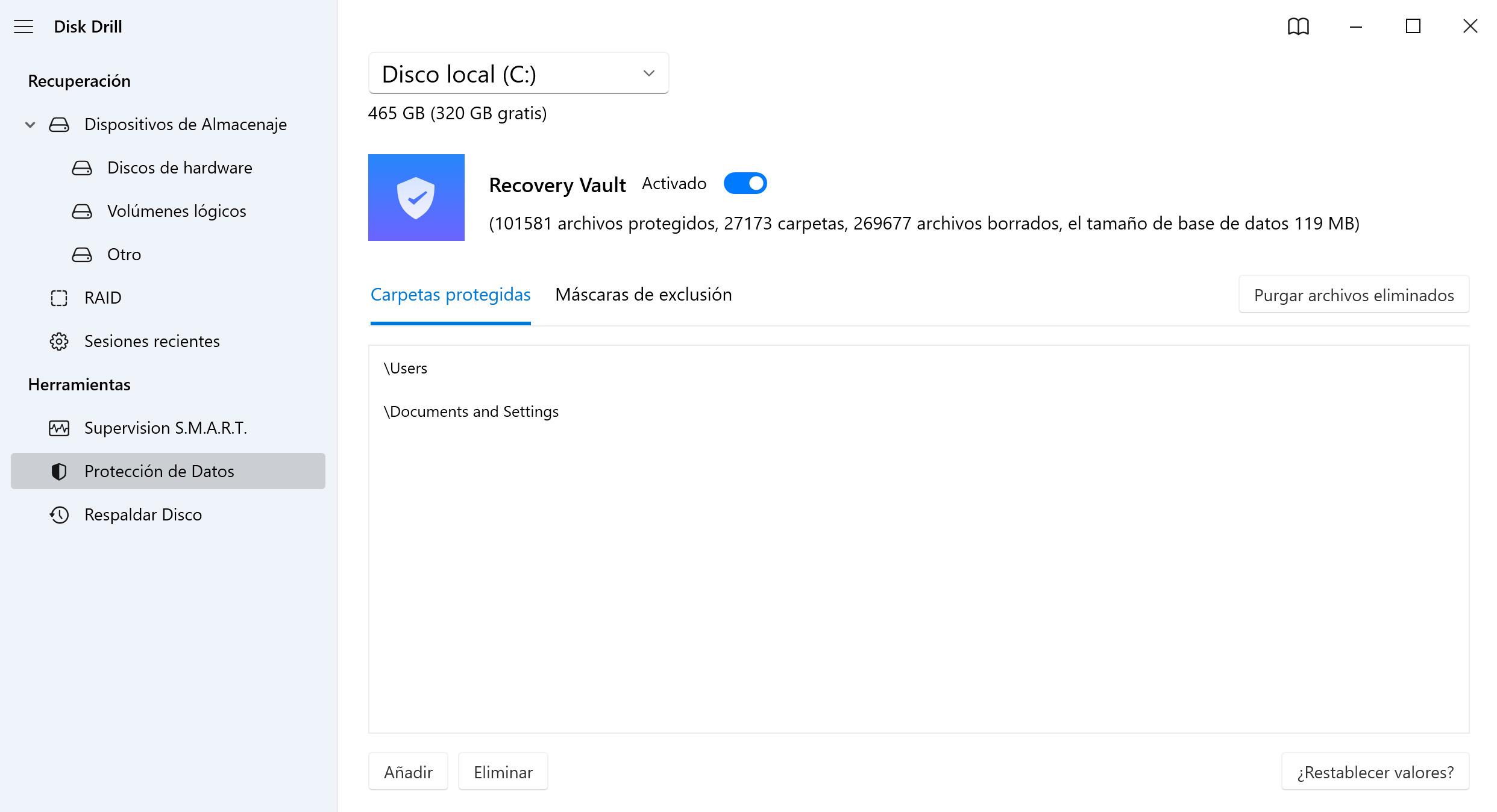 Restaurar la partición HFS con encriptación de FileVault